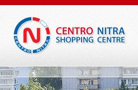 Centro Nitra - Obchodné centrum | Web dizajn + HTML & CSS