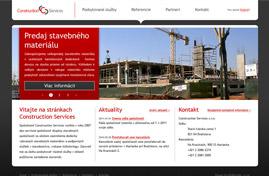 Construction Services | Web dizajn