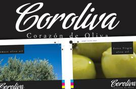 Coroliva - Olivový olej | Logo dizajn + Print dizajn