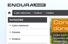 Endurashop | Web dizajn