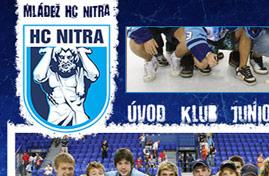 HC Nitra - Hokejová mládež v Nitre | Web dizajn + HTML & CSS