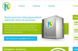 KLK s.r.o. | Web dizajn + HTML & CSS