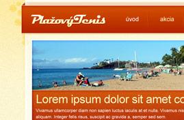 Plážový tenis - Plážový tenis na Slovensku | Web dizajn + HTML & CSS